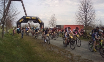 Am Start beim MTB Klassiker in Löbichau